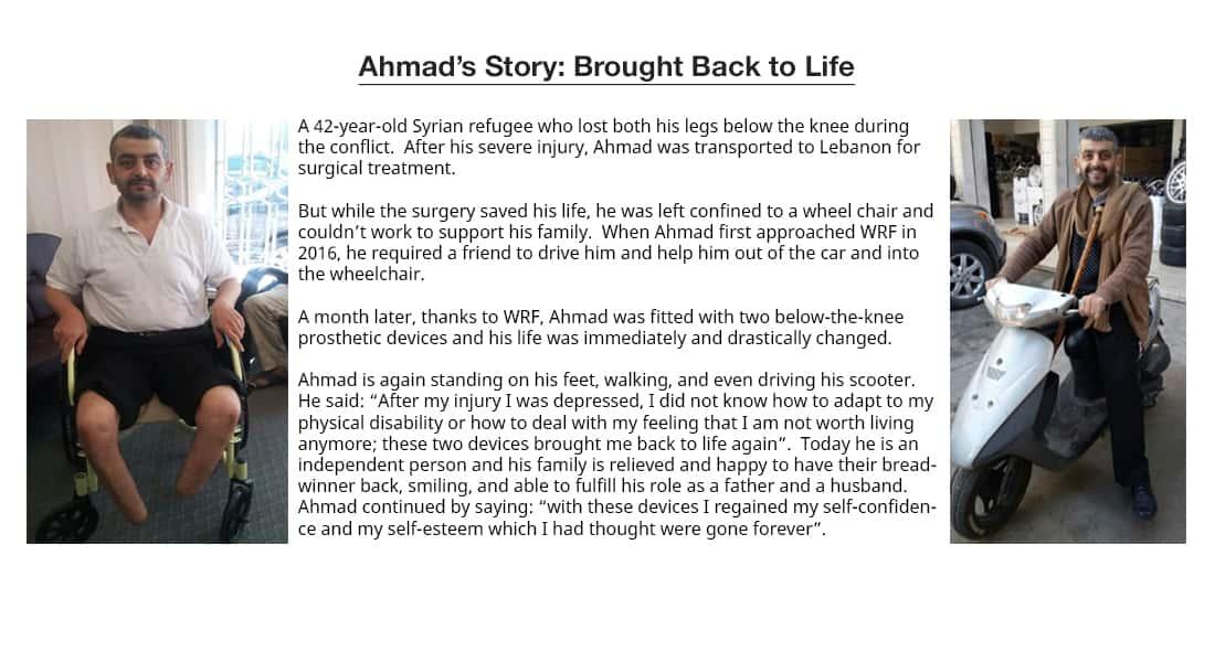 Ahmad's Story